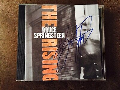 Bruce Springsteen Signed CD The Rising Album AUTO Autograph The Boss