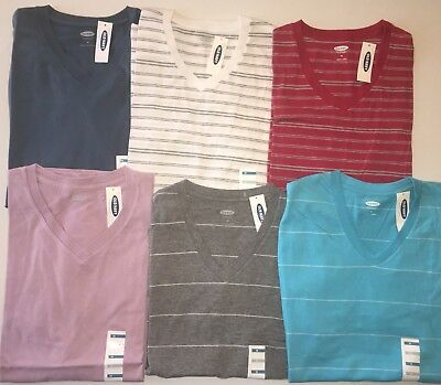 Mens Mixed Lot Of 6 Old Navy Brand Tee Shirts Size Medium New With Tags!