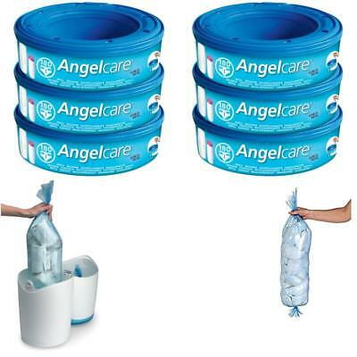 Angelcare Nappy Disposal System Refill Cassettes - Pack of 3 ,New