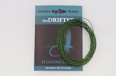 theDRIFTER Furled Leader (FLOATING Dry Fly Fishing Leader) + FREE SHIPPING