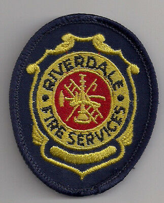 Patch Abzeichen Riverdale Fire Department Kalifornien USA Feuerwehr