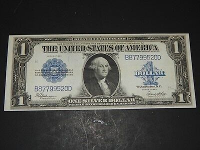 One Doller Silver Certificate, Series of 1923, Large Note