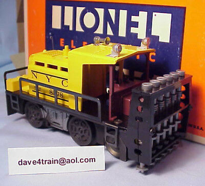 Lionel #8578 NYC NEW YORK CENTRAL RR. OPERATING BALLAST TAMPER CAR - NEW/OB!!