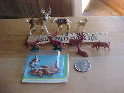 Small collectible plastic deer