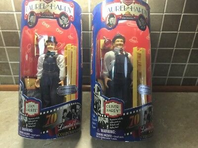 Laurel And Hardy Dolls Stan & Oliver Action Figure Collectors Series Target Only
