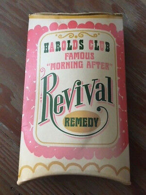 """Harolds Club Famous """"Morning After"""" Revival Remedy - Vintage Reno Casino"""