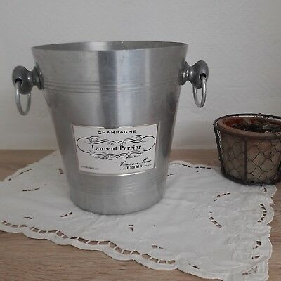 Seau a champagne / Old french ice champagne bucket Laurent Perrier