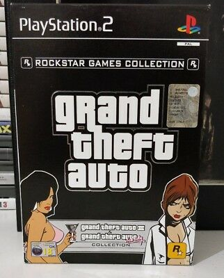 Playstation Ps2 Grand Theft Auto Collection Gta Iii 3 + Vice City Come Nuovo Ita