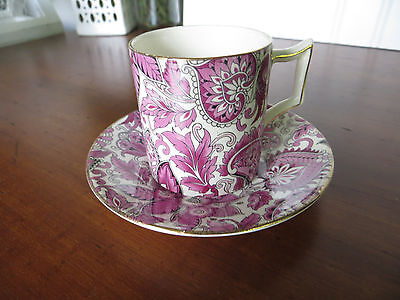 Old Foley James Kent Staffordshire Made in England Chinarita 5641 Cup & Saucer