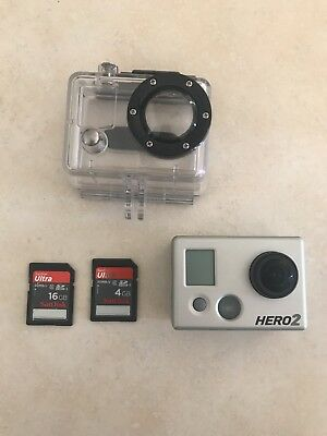 GoPro Hero2 Barely Used w SD cards