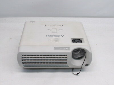 Mitsubishi XD205U DLP Projector Tested Unknown Lamp Hours