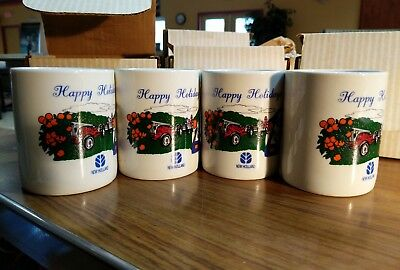 NEW HOLLAND TRACTOR Coffee Cup/Mug NEW in Original Boxes