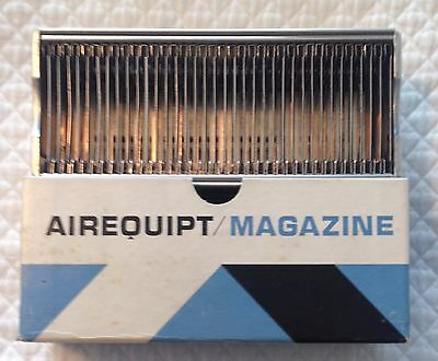 "Vintage Metal Photo 35MM Airequipt Slide Magazine Tray ONE - Holds 36 2"" slides"