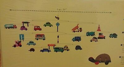 Djeco Traffic Cars Truck Automobile Modern Hanging Baby Nursery Mobile Decor New