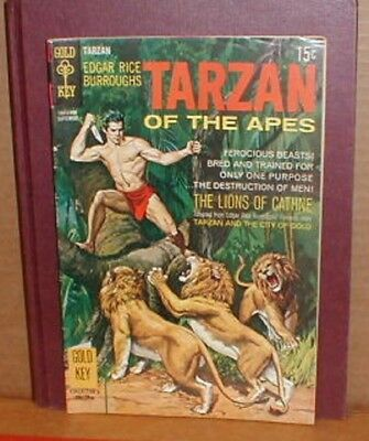 Tarzan of the Apes #187 ( Gold Key ) Painted Cover Good / Good + or Better.