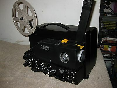 Sankyo 800 Stereo Super 8 Sound Projector  Top of the Line RARE!  Just Serviced