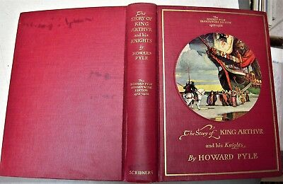 1940 book THE STORY OF KING ARTHUR AND HIS KNIGHTS by HOWARD PYLE