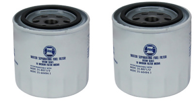 2 x Fuel Filter, Outboard Fuel Filter Spin Off  Mercury Fuel Filter Twin Pack