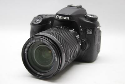 Canon EOS 70D 20.2 MP DSLR Camera with EF-S 18-135mm f/3.5-5.6 IS STM Lens -