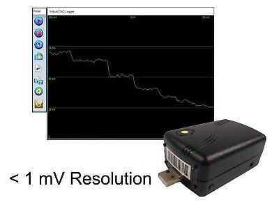 0 ~ +75 mV (millivolts), 0.075 v,Voltage Data Logger USB Data Acquisition System