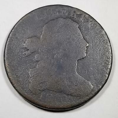 1801 USA Draped Bust 1/000 Fraction Large Cent Great Coin