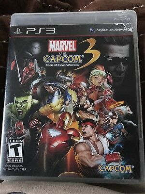 Marvel vs. Capcom 3: Fate of Two Worlds (Sony PlayStation 3, 2011)