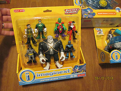 Imaginext *JUSTICE LEAGUE 7 PACK * DC comics  FISHER PRICE SOLOMON GRUNDY