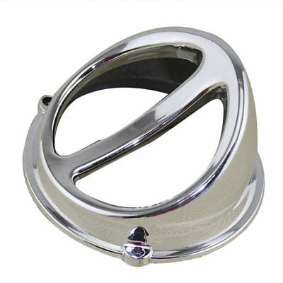 Motorcycle Air Scoop Fan Cover Cap Chinese Scooter Accessories for GY6 Silver