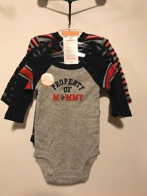 Carters Just one you 3 piece set bodysuit 3 month