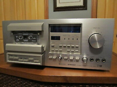 Pioneer CT-F900 Stereo Cassette 3-Head Tape Deck *Serviced*
