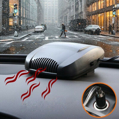 200W 12V Electric Car Heater Fan Heating Vehicle Ceramic Defroster Demister