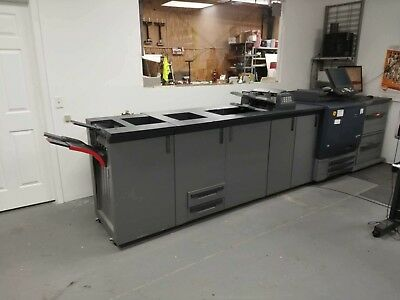 Konica Minolta Bizhub Press C7000 Copier Printer Scanner Pro 80 Fiery Server