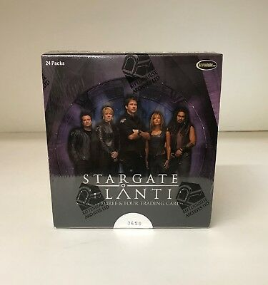 Stargate Atlantis Seasons Three & Four - Trading Card Hobby Box - Season 3 & 4