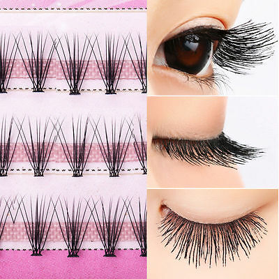 8/10/12/14mm Curl Natural Individual Cluster Eyelash False Eyelashes Extension