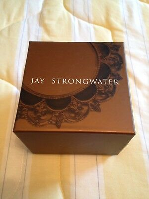 1 Jay Strongwater Empty Storage Box For White Esperanta Cross Ornament
