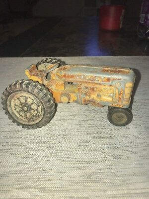 Vintage Hubley Toy Tractor