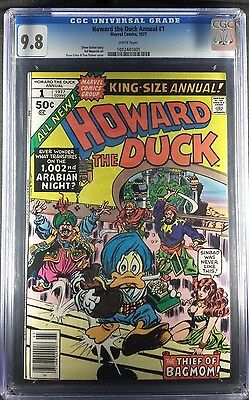 Howard The Duck Annual #1 1977 CGC Graded 9.8 WHITE Pages
