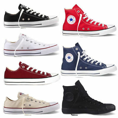 AU High Top Low Top Chuck Taylor Sneakers Trainers Comfort Classic Canvas Shoes