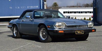 1990 Jaguar XJS Base Convertible 2-Door 1990 Metallic Blue Convertible Low Miles Leather Interior Elegant Driver