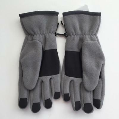 Patagonia Synch Unisex Large Fleece Nickel Gray Ski Gloves Casual Outdoor Winter