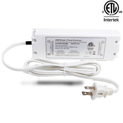 LEDUPDATES TRIAC DIMMABLE POWER SUPPLY LED DRIVER For LED LIGHT ETL LISTED