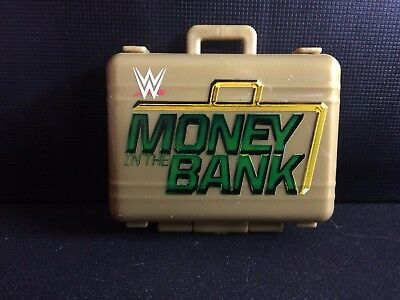 Brand New WWE Money in the Bank Commemorative GOLD classic Replica Briefcase