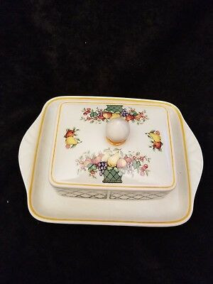 Villeroy and Boch Butter dish basket style