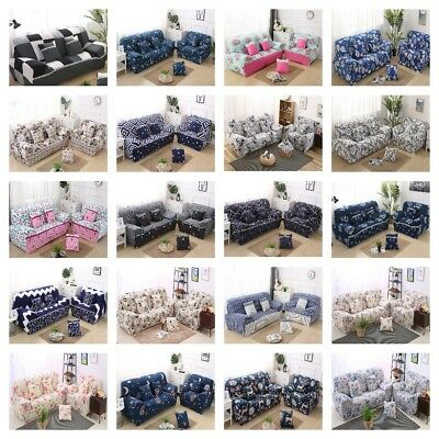 Stretch Lounge Couch Sofa Covers Slipcover 1 2 3 4 Seater Washable Dining Chair