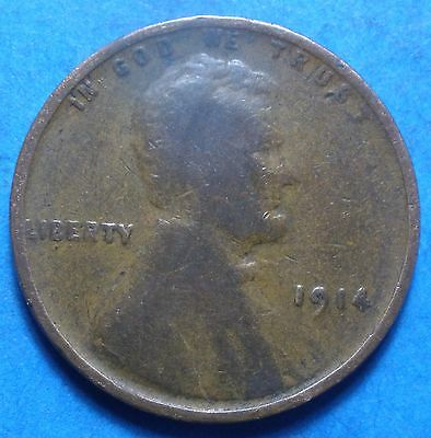*1914-P* Lincoln Wheat Cent    102 years old