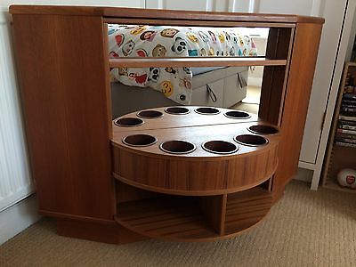 70s Mid Century Retro Revolving Drinks Cocktail Cabinet Sideboard Gplan