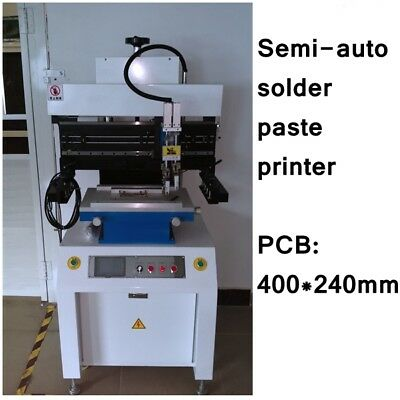 SMT semi-auto type solder paste printer YS350 for pcb assembly line- J