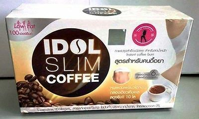 Coffee Idol Slim Powder Drink Instant Diet Weight Loss Burnt Resistance Low Fat