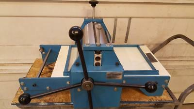 Pilot Graphics Hybred Table Top Etching Intaglio Wood Cut Lino Letterpress Press