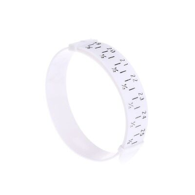 Plastic Bracelet Sizer Wristband Measuring Tool Bangle Jewelry Making Gauge Hand